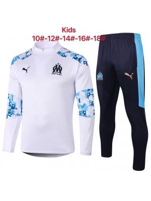 Olympique de Marseille Survêtements 2020/21 Enfants