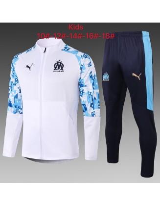 Olympique de Marseille Tracksuits 2020/21 Kids