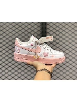 Air Force 1 Pink Foam White