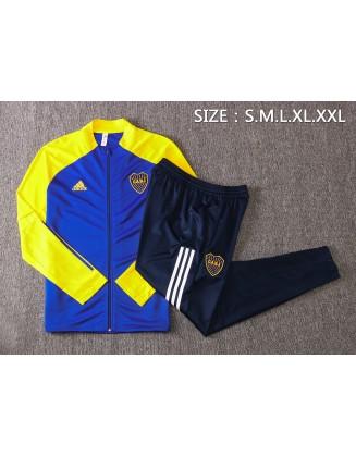 Jacket + Pants Boca Juniors 2021