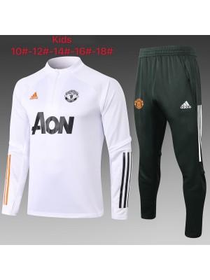 Manchester United Survêtement 2020-2021 Enfants