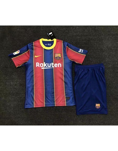 2020-2021 Barcelone Home Football Jersey For Kids