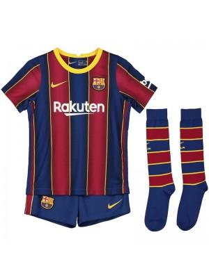 Maillot Barcelona Domicile 2020-2021 Enfant