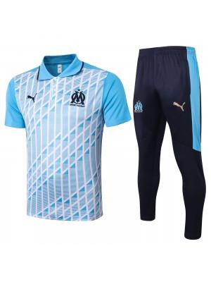 Polo + pantalons Olympique de Marseille 2020-2021