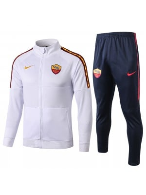 Chaqueta + Pantalones AS Roma 2019/2020 Blanco