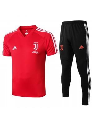 Camisa + Pantalones Juventus 2019-2020 Rojo