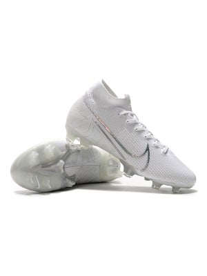Mercurial Superfly VII Elite SE FG 'Nuovo White Pack'