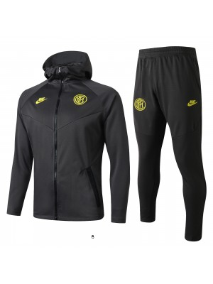 Sweat à capuche + pantalon Inter Milan 2019-2020
