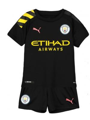 Camiseta Manchester City 2a Equipacion 2019-2020 Niños