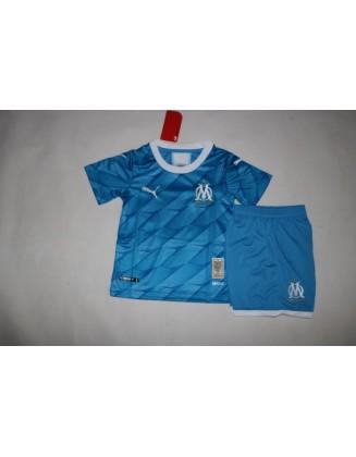 2019-2020 Olympique de Marseille Away Jersey For Kids