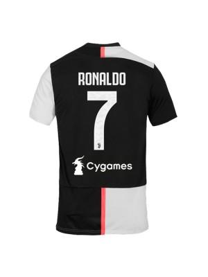Maillot Juventus Domicile 2019/2020 Ronaldo 7 Cygames
