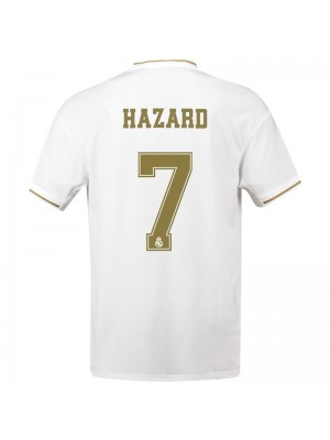 Camiseta Real Madrid Primera Equipacion 2019/2020 Hazard 7