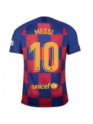 Maillot FC Barcelone Domicile 2019/2020 Messi 10