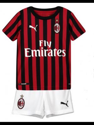 Camiseta Del AC Milan 2019-2020 Niños