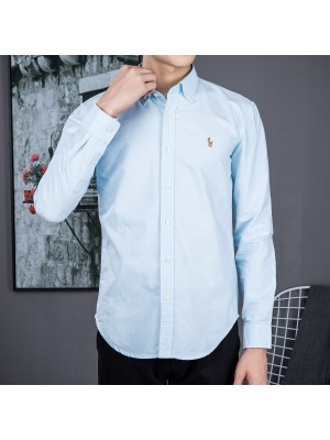 Ralph Lauren Oxford Textile Shirts  - 002