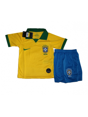 Camisas de Brasil 1a equipación 2019 Niños