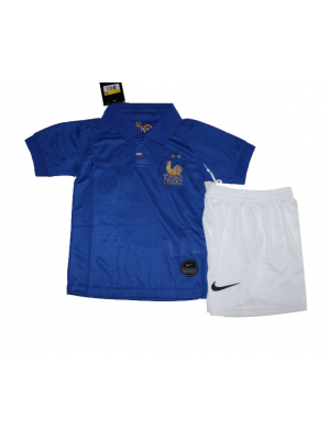 Camiseta De Francia Azul 2019 Niños