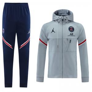 Sweat à capuche + pantalon Jordan X PSG 2021-2022