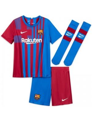 Maillot Barcelona Domicile 2021-2022 Enfant