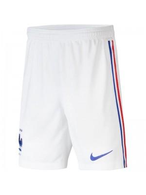 Short France 2021 blanc