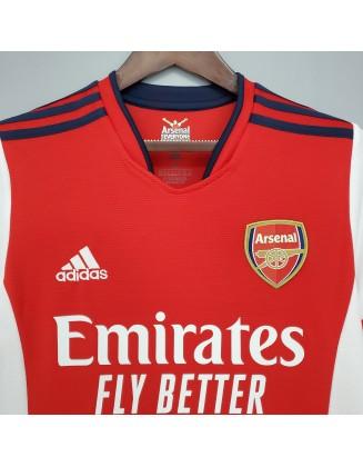 2021-2022 Arsenal Home Football Jersey
