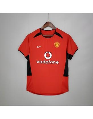 Manchester United Jersey 02/04 Retro
