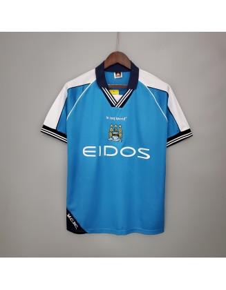 Manchester City Home Jersey 99/01 Retro