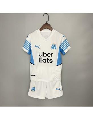 Olympique de Marseille Home Jersey For Kids 2021/22