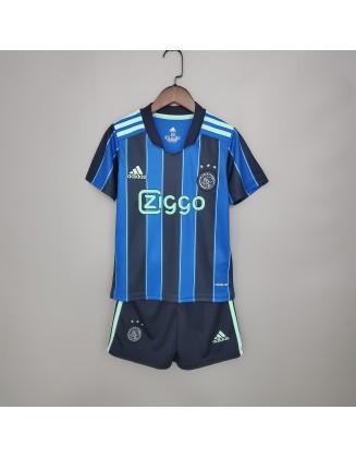 Ajax Away Jersey 2021/2022 For Kids