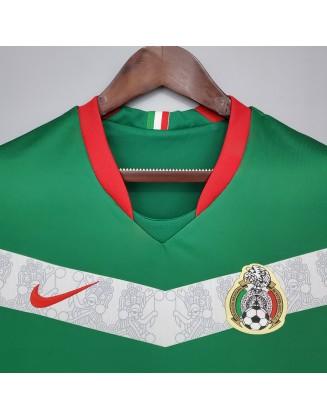 Mexico Home Jerseys 2006 Retro