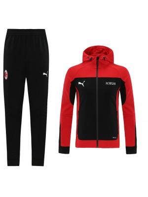 Sweat à capuche + Pantalon AC Milan 2020-2021