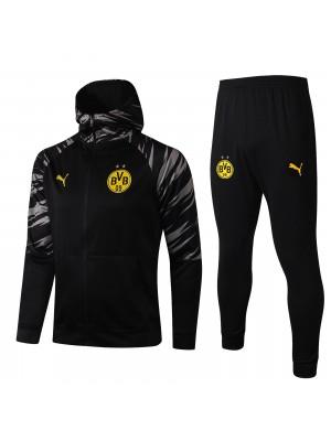 Veste à capuche + pantalon Borussia Dortmund 2020-2021