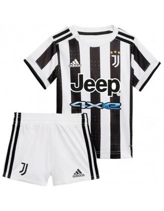 Juventus Home Football Shirt 2021-2022 For Kids