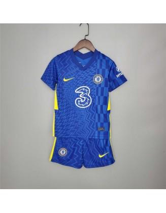 Chelsea Home Shirt 2021-2022 For Kids