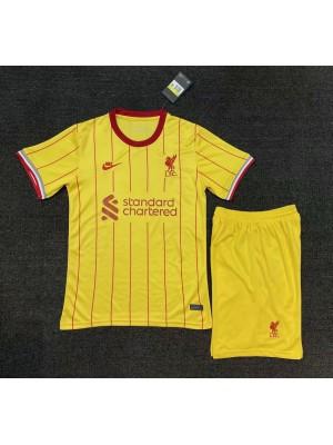 Maillot Liverpool Exterieur 2021-2022 Enfant