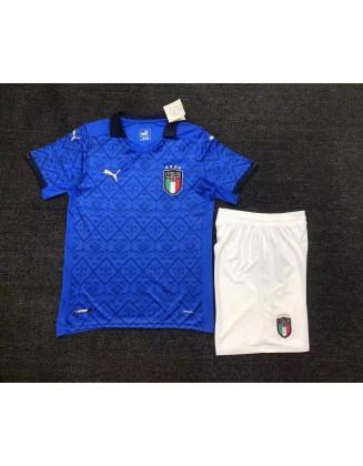 Italy Home Jerseys 2021 Kids