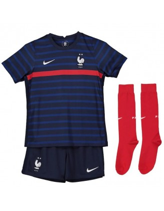 France Home Jersey 2021 Kids