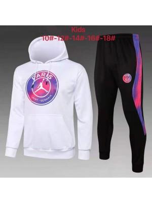 Sweat à capuche + pantalon Jordan X PSG 2021-2022 Enfant