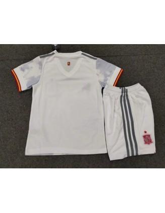 Spain Away Jerseys 2021 Kids