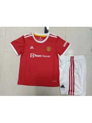 Maillot Manchester United Domicile 2021/2022 Enfant