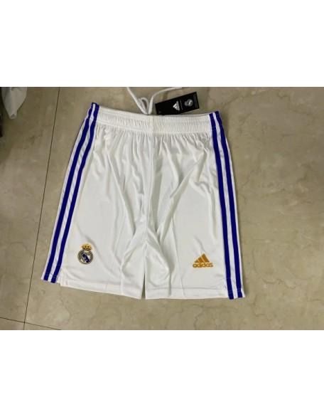 2021/2022 Real Madrid Home Football Shorts