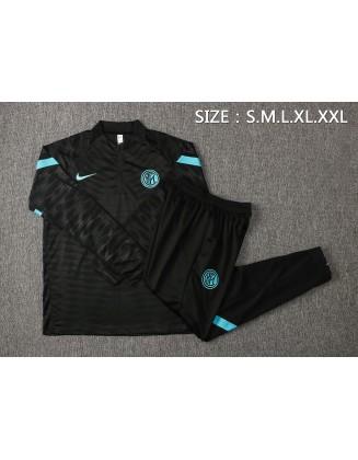 Inter Milan Black Tracksuit 2021/2022