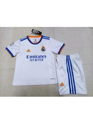 Maillot Real Madrid Domicile 2021/2022 Enfants