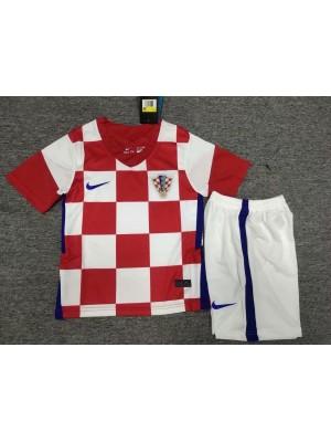 Maillot Croatie Domicile 2021 enfants