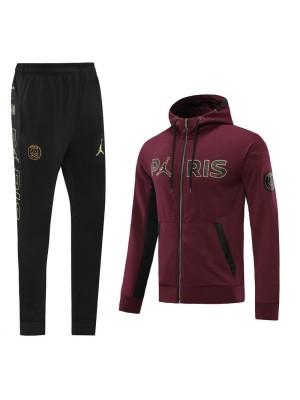 Sweat à capuche + pantalon Jordan X PSG 2020-2021