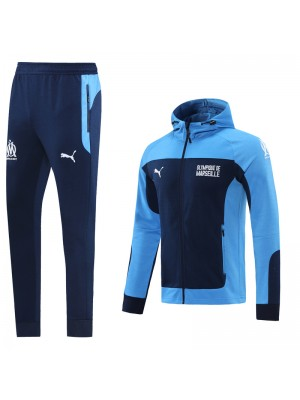 Veste à capuche + pantalon Olympique de Marseille 2020-2021