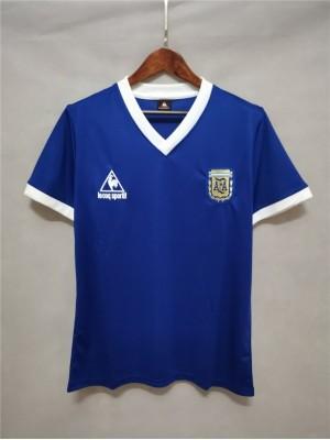 Maillot Argentina Extérieur 1986