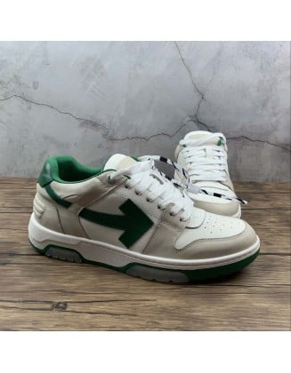 Off-White c/o Virgil Abloh Out Of Office Low-top Leather Sneakers