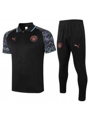 Polo + pantalon Manchester City 2020/2021
