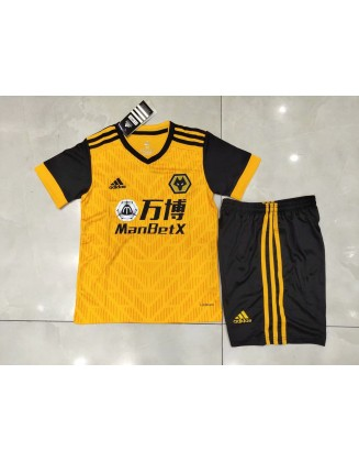 Wolves Home Jersey 2020/2021 For Kids